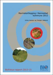 Biofokus rapport raviner Nannestad
